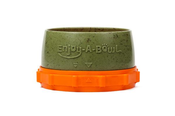 Enjoy-A-Bowl Army Orange : One