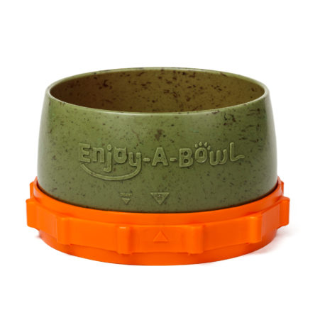 Enjoy-A-Bowl Army Orange : Two