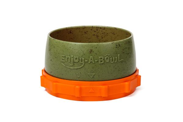 Enjoy-A-Bowl Army Orange : Two