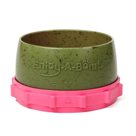Enjoy-A-Bowl Army Pink : Two