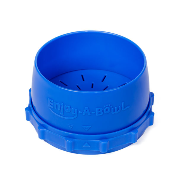 Enjoy-A-Bowl Blue Blue : Three