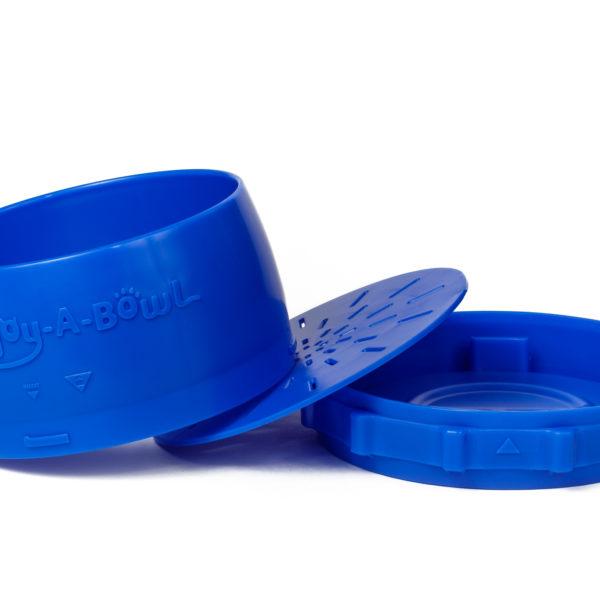 Enjoy-A-Bowl Blue Blue : Four