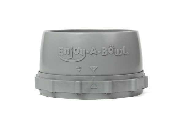 Enjoy-A-Bowl Gray Gray : One