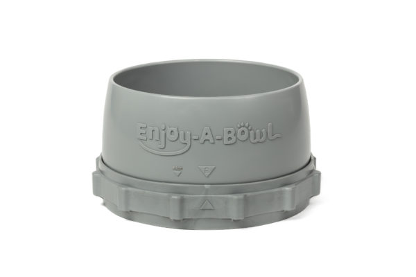 Enjoy-A-Bowl Gray Gray : Two