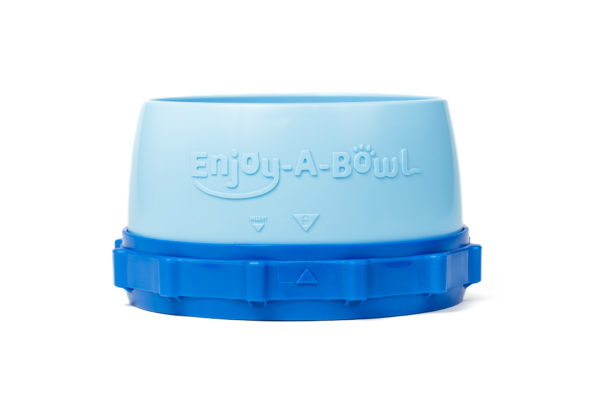 Enjoy-A-Bowl Light Blue Blue : One