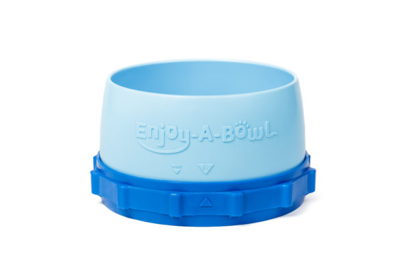 Enjoy-A-Bowl Light Blue Blue : Two